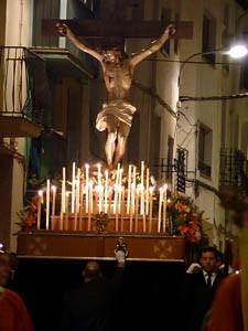 Semana Santa Jezus voorzijde